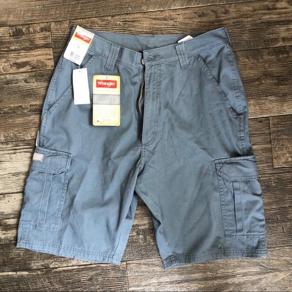 Wrangler Other - Grey Cargo Shorts